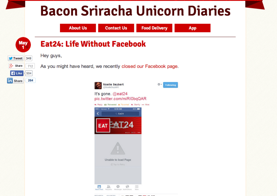 PR Winner of the Week: Eat24