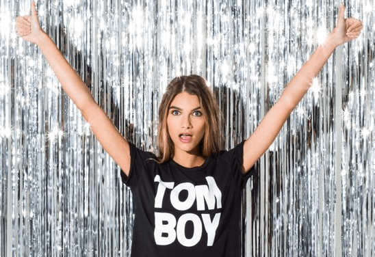 "Wildfang's wildly popular ""Tomboy"" t-shirts as sold on their website"