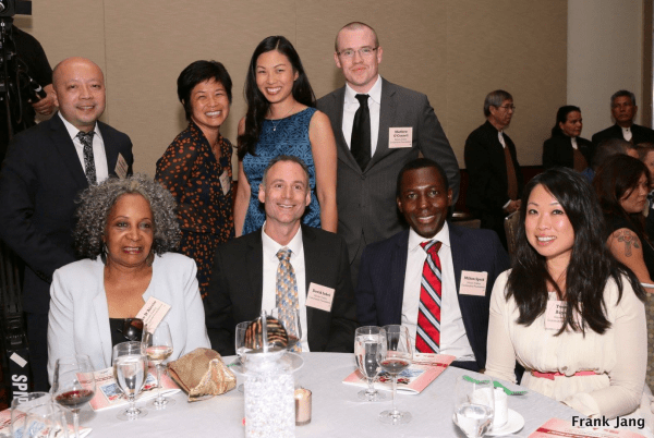 The Silicon Valley Community Foundation table at ASIAN, Inc.'s 2014 Gala