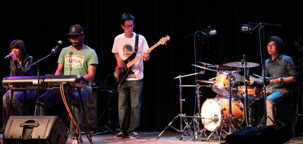 The Delivery performing at SFSU's Movements of Heritage show; Photo by Amy Hoang of API SFSU