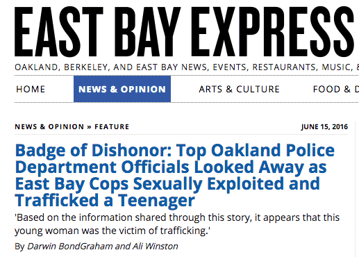 Good Job, Media: East Bay Express & The Power of Alt-Weeklies