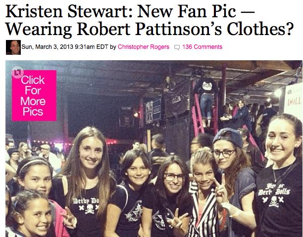Even Kristen Stewart is a fan